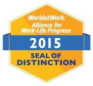 UC San Diego receives the WorldatWork Alliance for Work-Life Progress 2015 Seal of Distinction.